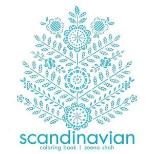 🌷Scandinavian colouring book brand new
